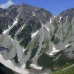 奥穂高岳と涸沢岳